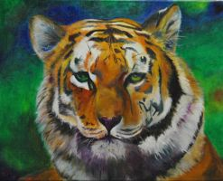 Tiger finished by EvelineVdp