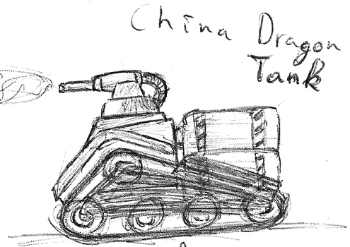 China Dragon Tank by TheLightLOD