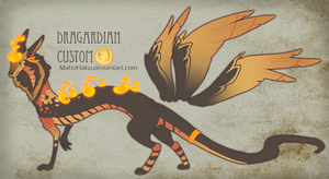 CustomDragardian Reyniki by GentleLark