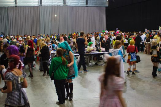 Desucon 8 Lillestrom Crowd Overview by VictorCS