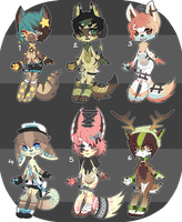 Adopt Auction [ CLOSED ] by ButterflyBandit