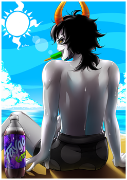 Homestuck - Summer by CIELO-PLUS