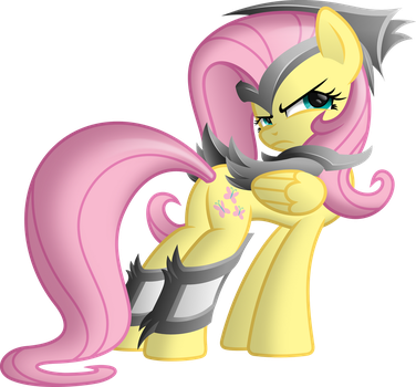 Fluttershy The Warrior by RatchetHuN