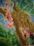 chronos cross by chacrawarrior