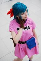 Bulma Cosplay by Pi-Cosplay