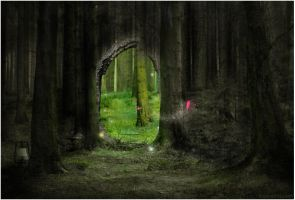 The Forest Gate by DamnedHonesty