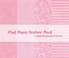Pink Paper Texture Pack by powerpuffjazz
