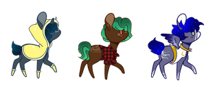 Teeny Ponies OTA 2 *OPEN* by ConspiracyAdopts