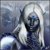 Drow Princess by UweG