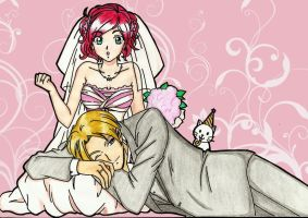 Claire and Leon : Its a Party Time Special Wedding by LeonandClaireBSAA
