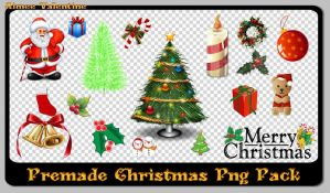 Premade Pack Of Png Christmas by Lady-Valentine-Art83