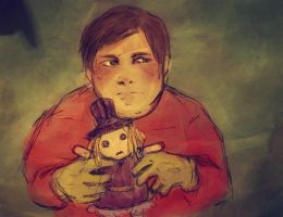 cartman plays with polly by Everybery