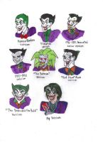 Different Styles of the Joker by KessieLou