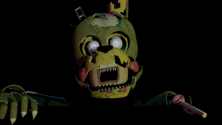 (FNAF 6) Scraptrap Background by HalloweenSteinger