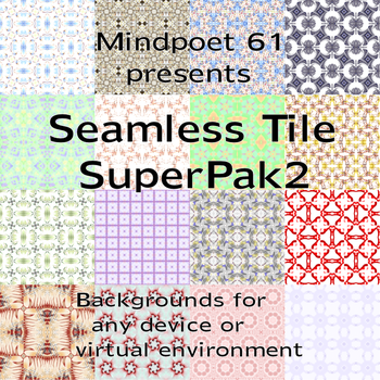Seamless Tile SuperPak 2 by mindpoet61