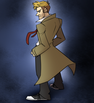 Constantine by cartoonjunkie