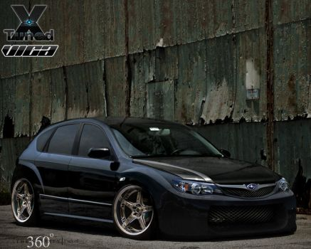Subaru Impreza Mixed by vicadesigner