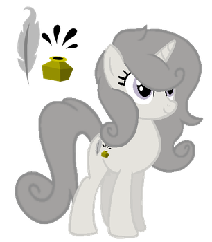 New OC Greyscale by sharpster25