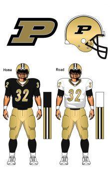 Purdue Boilermakers uniform concept by TheGreatKtulu