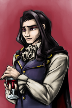 Damien Bloodmarch by Excellency-Shinigami