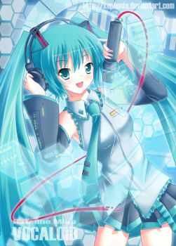 Vocaloid - Hatsune Miku by xephonia