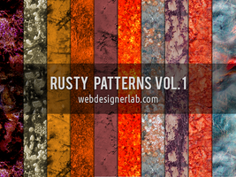 Rusty Patterns Vol. 1 by xara24