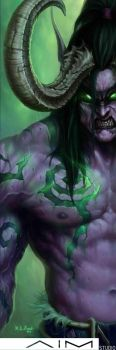 Illidan Stormrage by XL-Kong
