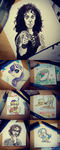 Post-it doodles by TariToons
