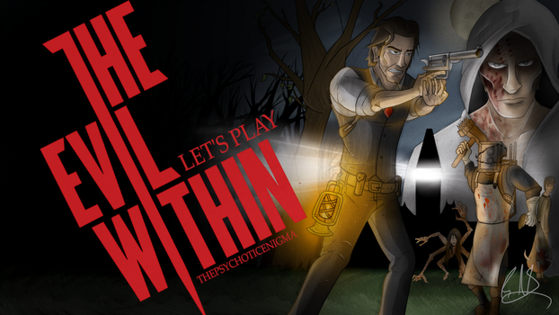Let's Play The Evil Within Thumbnail Remake by ThePsychoticEnigma