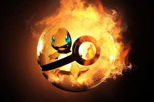 The Pokeball of Charmander by wazzy88