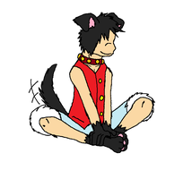 Doggy!Luffy by XfangheartX