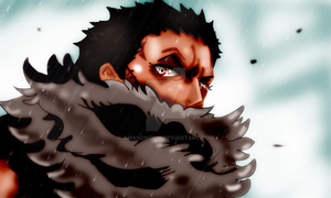 One Piece Chapter 864 Vinsmoke Charlotte Katakuri by Amanomoon