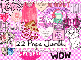 + Pack PNGs Tumblr by CarSelenatica2000