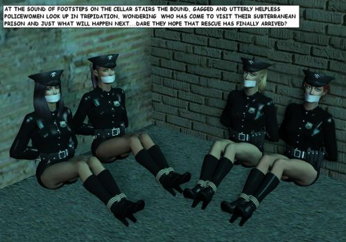 The Case of the Corner Tied Lady Cop Quartet by ih31uk
