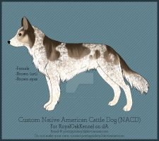 Custom NACD - RoyalOakKennel by prettypinkey2