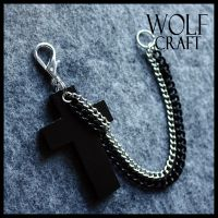 WOLF CRAFT Crucifix and Chains by wickedland