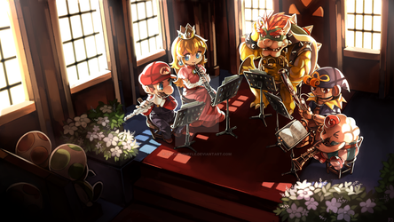 Super Mario RPG Wind Quintet by Creamsouffle
