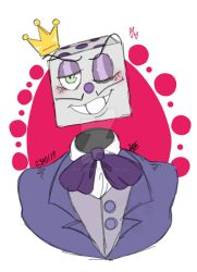 :The KING dice:  by TheArtistGamer3