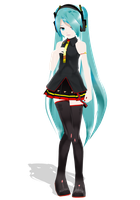 .: LAT GAME OVER Miku :. by Duekko