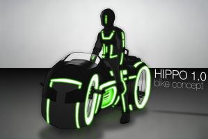 Hippo's Bike Concept by SkipperLee