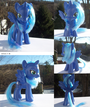 MLP:FIM: Brushable Princess Luna by reflera
