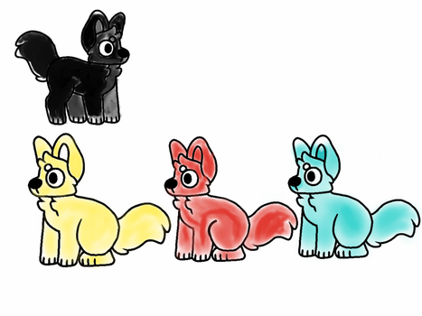 Cheap dog adopts open. Offer to adopt by GeneralKitty23