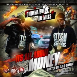 Its All About Money Mixtape Cover by Numbaz