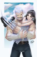 Logan and Laura by glencanlas