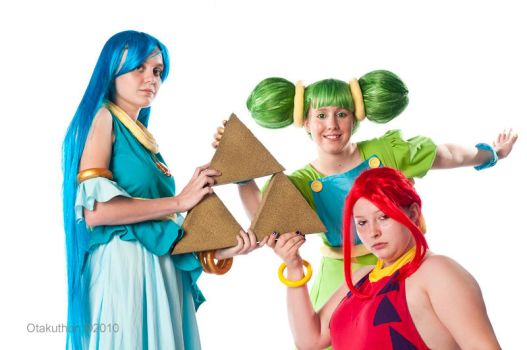 Triforce by MoonMelodyCosplay