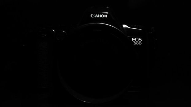 Canon Eos 500 Silhouette by RestlessScreams