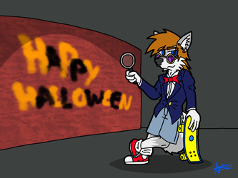 Happy Halloween - Case Closed! by omega-steam