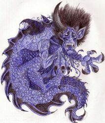 Lycanthrope-Draconis by Grotsky
