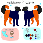 Fallblossom Reference Sheet by Official-Fallblossom