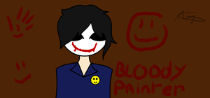 Bloody Painter by Superfluffy28